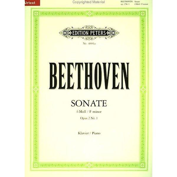 Edition Peters Beethoven - Piano Sonata in f minor Op.2 No.1