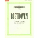 Edition Peters Beethoven - Piano Sonatas (2), Op.14