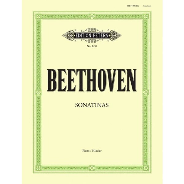 Edition Peters Beethoven - 6 Sonatinas