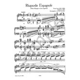 Edition Peters Liszt - Rhapsodie Espagnole