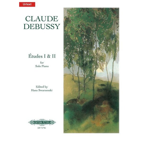 Edition Peters Debussy - Etudes
