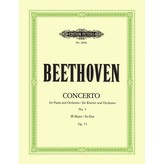 Edition Peters Beethoven - Concerto No.5 Opus 73 in Eb Major ('Emperor')