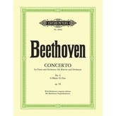 Edition Peters Beethoven - Concerto No. 4 in G Op. 58