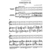 Edition Peters Beethoven - Concerto No. 3 in c minor Op. 37