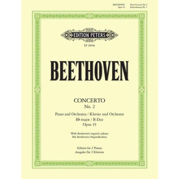 Edition Peters Concerto No. 2 in Bb Major Op. 19
