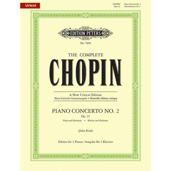 Edition Peters Chopin - Piano Concerto No. 2 in F-minor, Op. 21