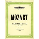 Edition Peters Mozart - Piano Concerto No.23 in A K488