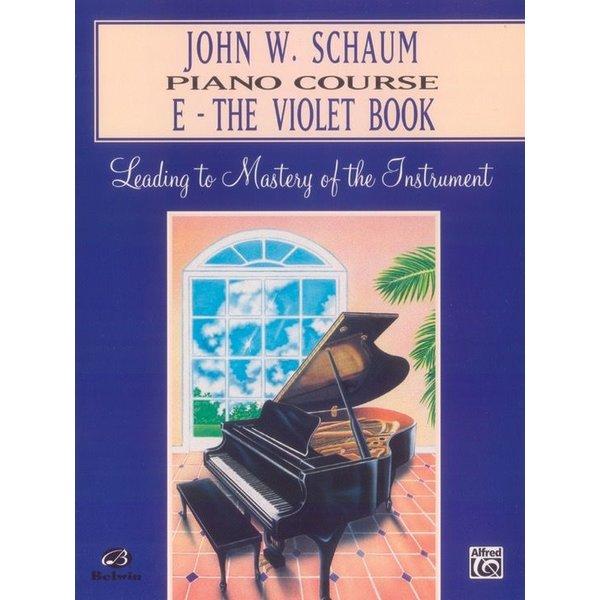 Alfred Music John W. Schaum Piano Course, E: The Violet Book
