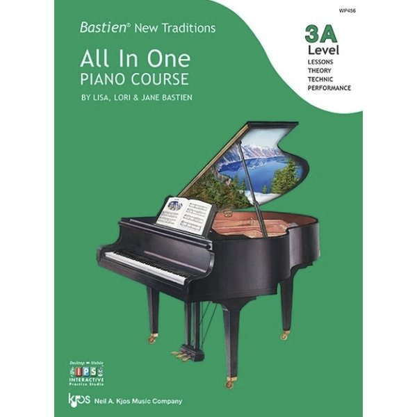 Kjos Bastien New Traditions: All In One Piano Course - Level 3A