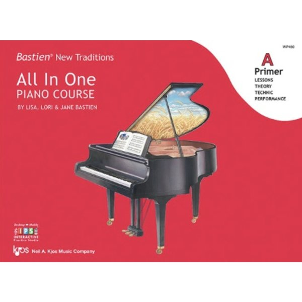 Kjos Bastien New Traditions: All In One Piano Course - Primer A