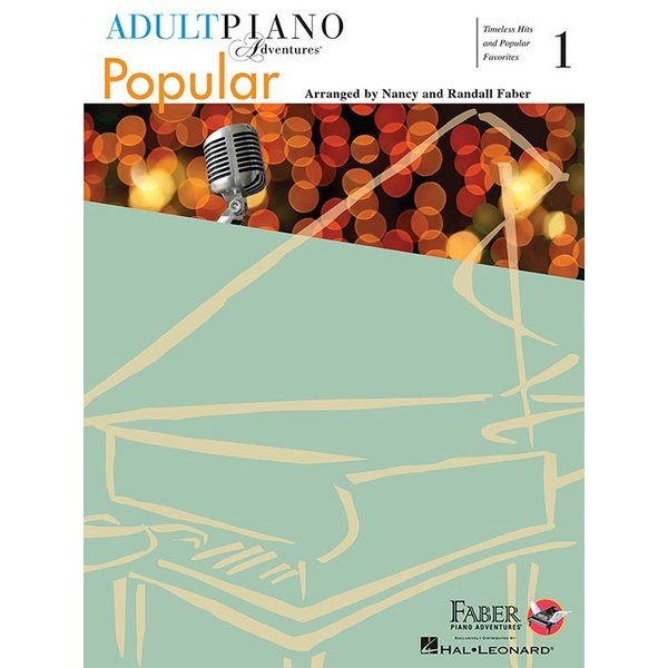 Faber Piano Adventures Adult Piano Adventures Popular Book 1