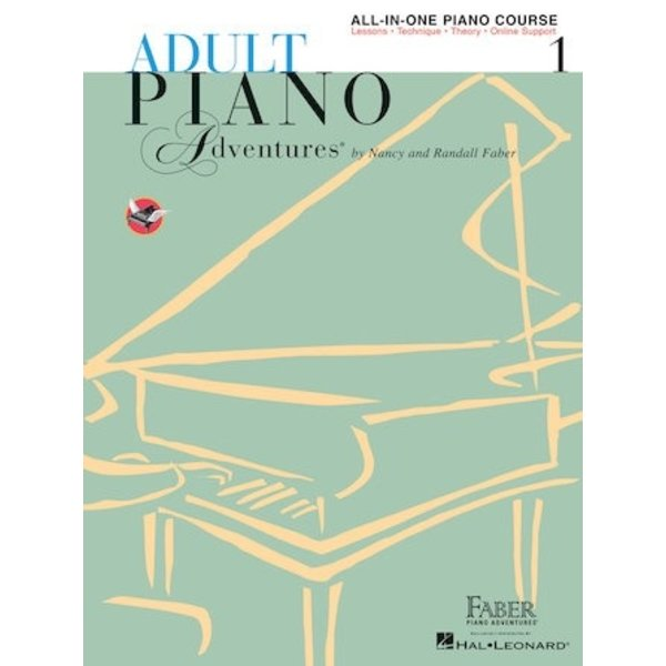 Faber Piano Adventures Adult Piano Adventures All-in-One Lesson Book 1 with CD