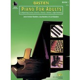Bastien Piano Bastien Piano For Adults, Book 1 (Book & 2-CD)