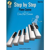 Willis Music Company Step by Step Piano Course – Book 6 with CD