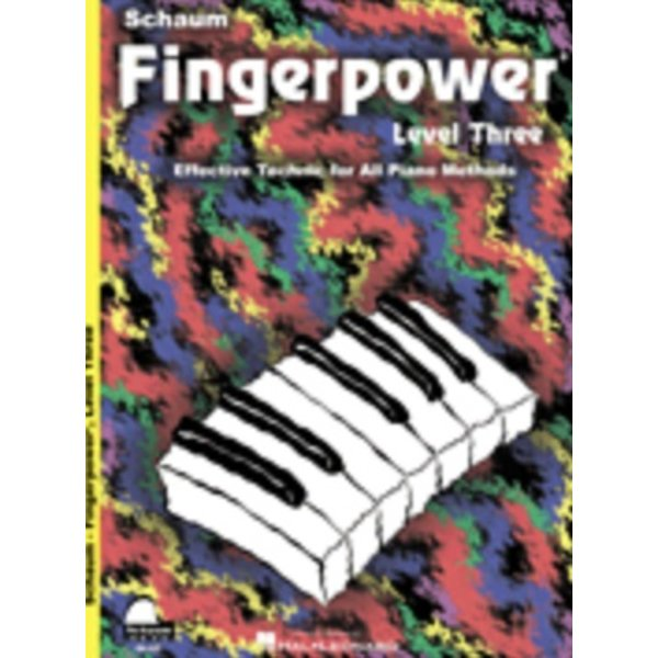 Schaum Fingerpower Book, Level 3