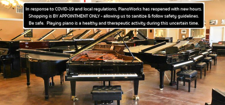 PianoWorks...Atlanta's Best Selection of Pianos and Sheet Music