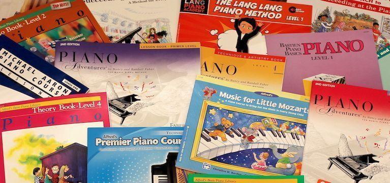 Piano Method Books
