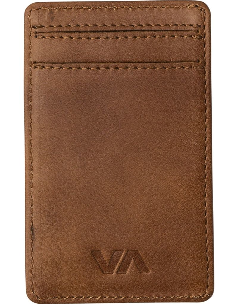 RVCA Clean Card Wallet<br /> Alternate Product View 1 for Clean Card Wallet TAN<br /> Alternate Product View 2 for Clean Card Wallet TAN<br /> CLEAN CARD WALLET