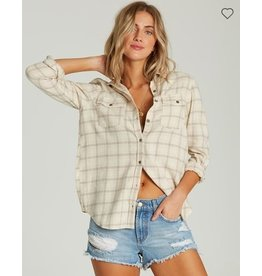 ALEXIS JANE DESIGN BILLABONG VENTURE OUT FLANNEL