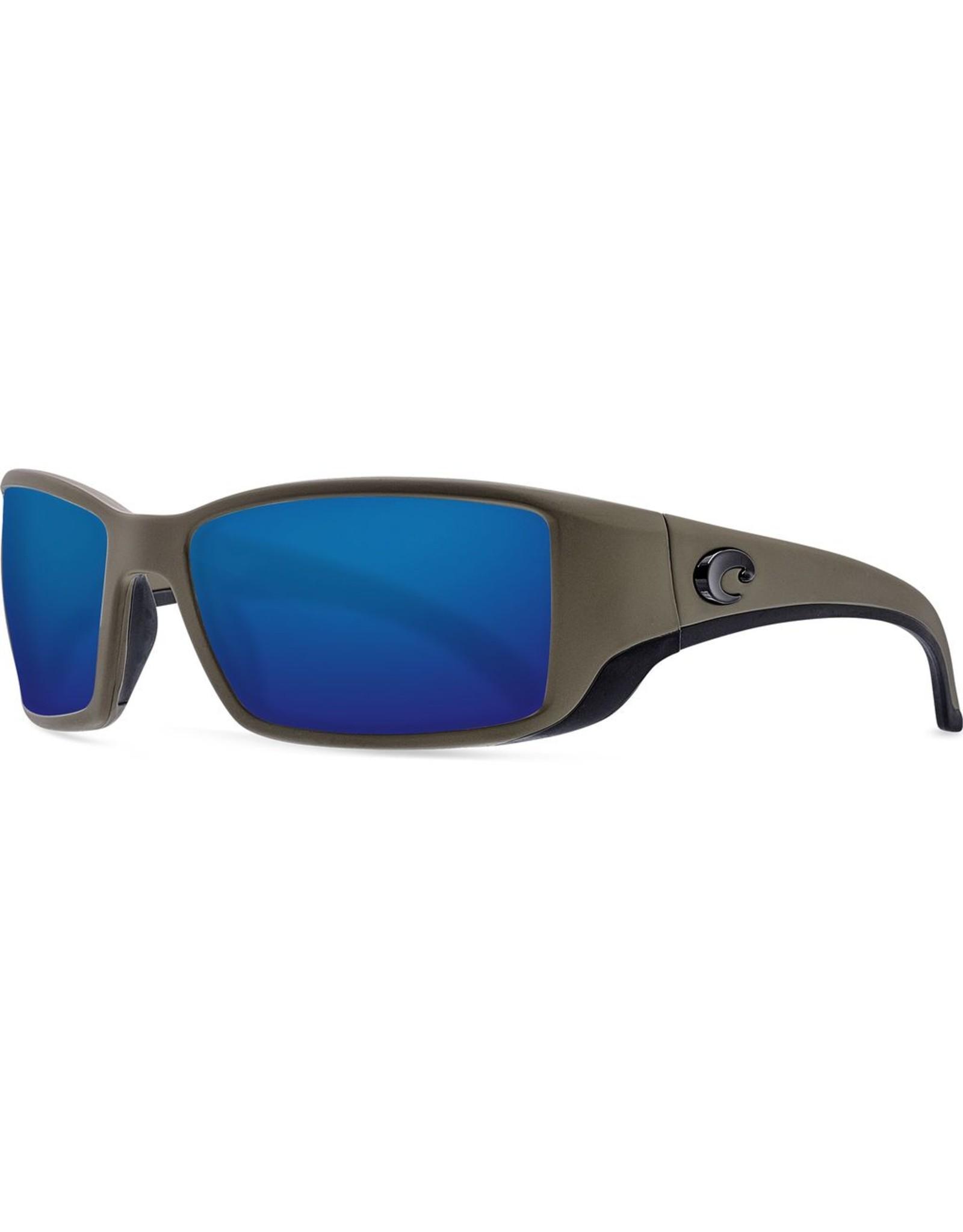 COSTA DEL MAR BLACKFIN - MOSS - BLUE MIRROR 580G