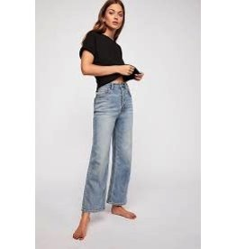 FREE PEOPLE Wales Wide-Leg Jeans