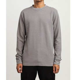 RVCA MANC STRIPED LONGSLEEVE SHIRT