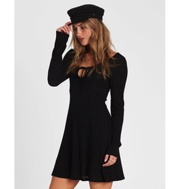 BILLABONG Walk On Long Sleeve Sweater Dress