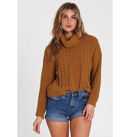 BILLABONG On A Roll Chenille Sweater