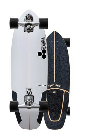 """Surfskate Complete30.75/"""" Carver x Channel IslandsCI Flyer C7"""