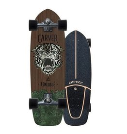 "CARVER SKATEBOARDS 29.5"" CONLOGUE SEA TIGER SURFSKATE COMPLETE"