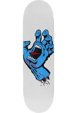 8.25in x 32.0in Screaming Hand Taper Tip Santa Cruz Skateboard Deck