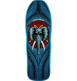 Powell Peralta Vallely Elephant Skateboard Deck BLUE - 10 x 30.25