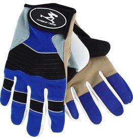 Timeship Racing Freeride Blue Slide Gloves