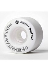 ARBOR Arbor Skateboards Vice White Skateboard Wheels - 69mm 80a (Set of 4)