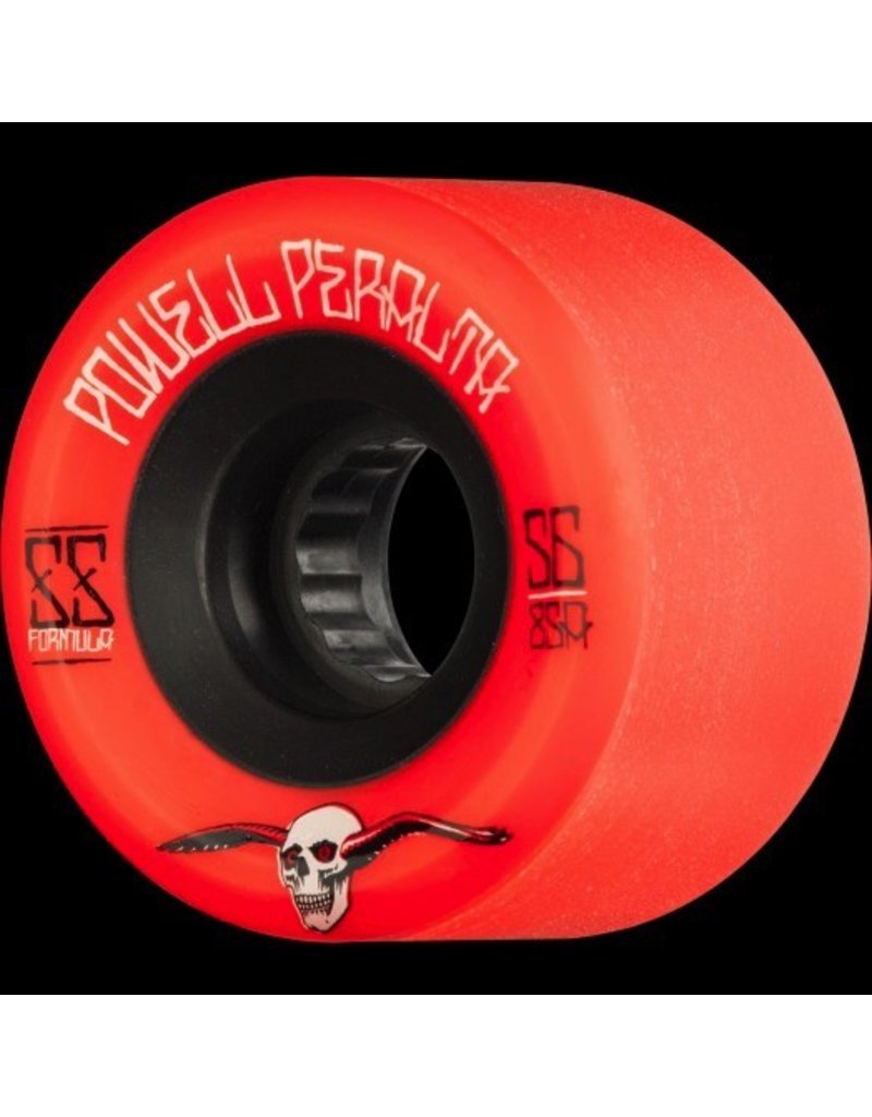 POWELL POWELL PERALTA G-SLIDES SKATEBOARD WHEELS 56MM 85A 4PK RED