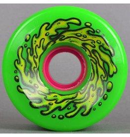 SANTA CRUZ Re-Issue Wheels 66mm OG Slime 78A Green