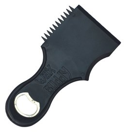 WAX BUDDY IV WAX COMB/BOTTLE OPENER BLACK