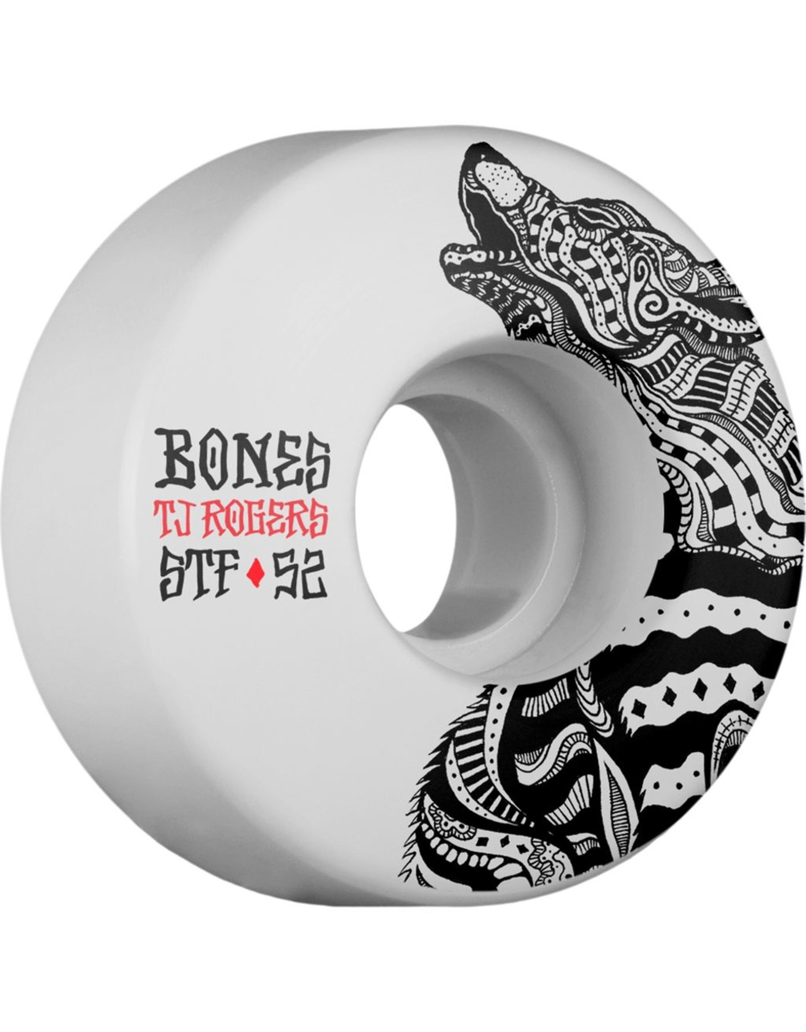 Bones Rogers STF Wolf 52mm Wheels