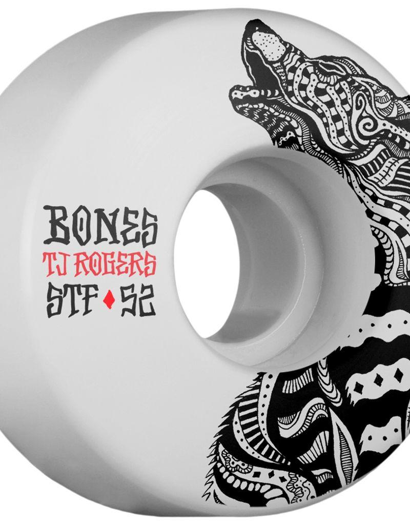Bones Rogers STF Wolf 52mm Wheels