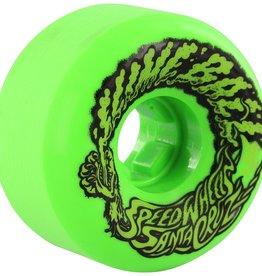 58mm Slimeballs Vomit Mini Green Glow 97A Skateboard Wheels