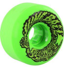 58mm Slimeballs Vomit Mini Green Glow 97A Skateboard Wheels