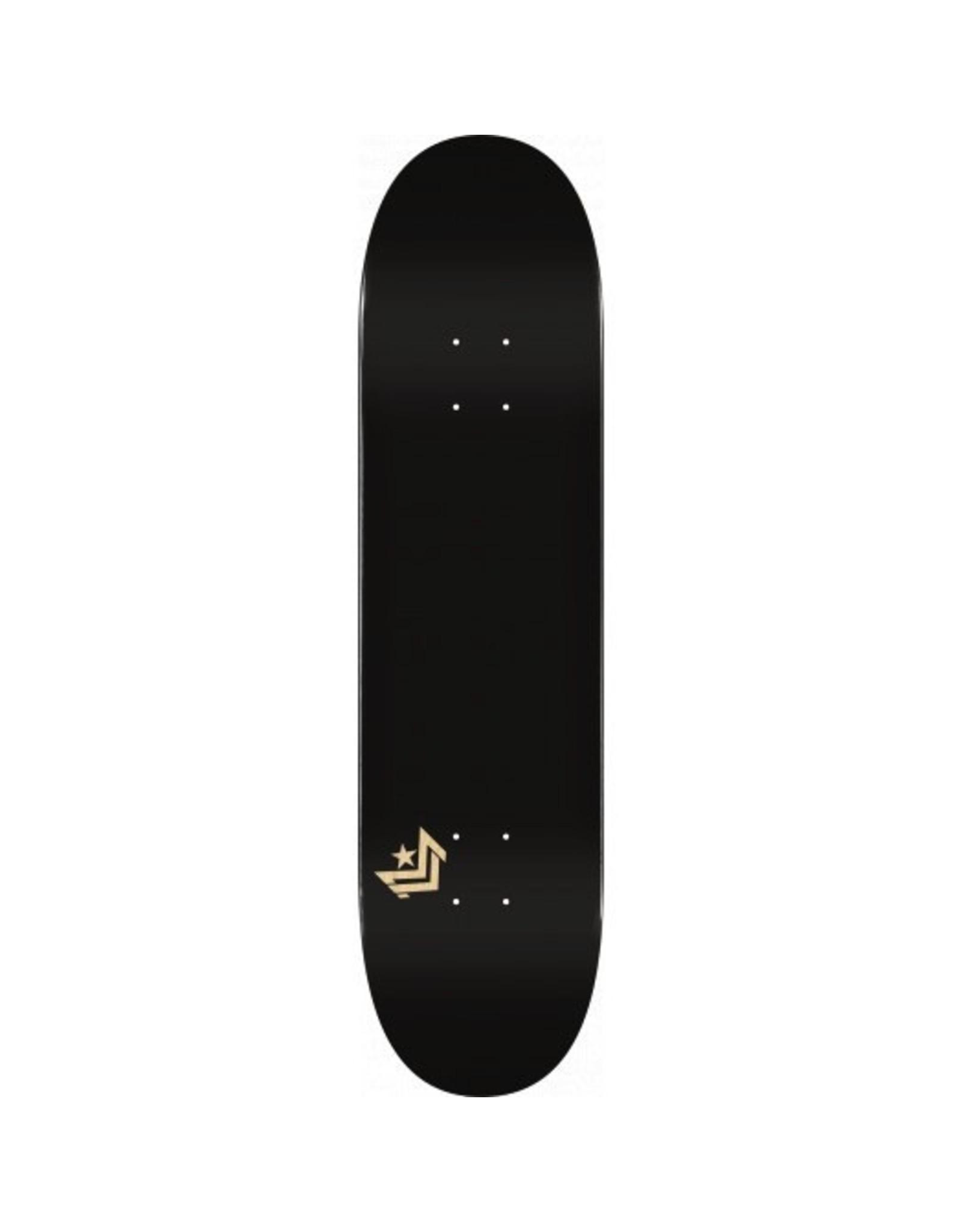 "MINI LOGO CHEVRON ""11"" SKATEBOARD DECK 248 BLACK - 8.25 X 31.95"