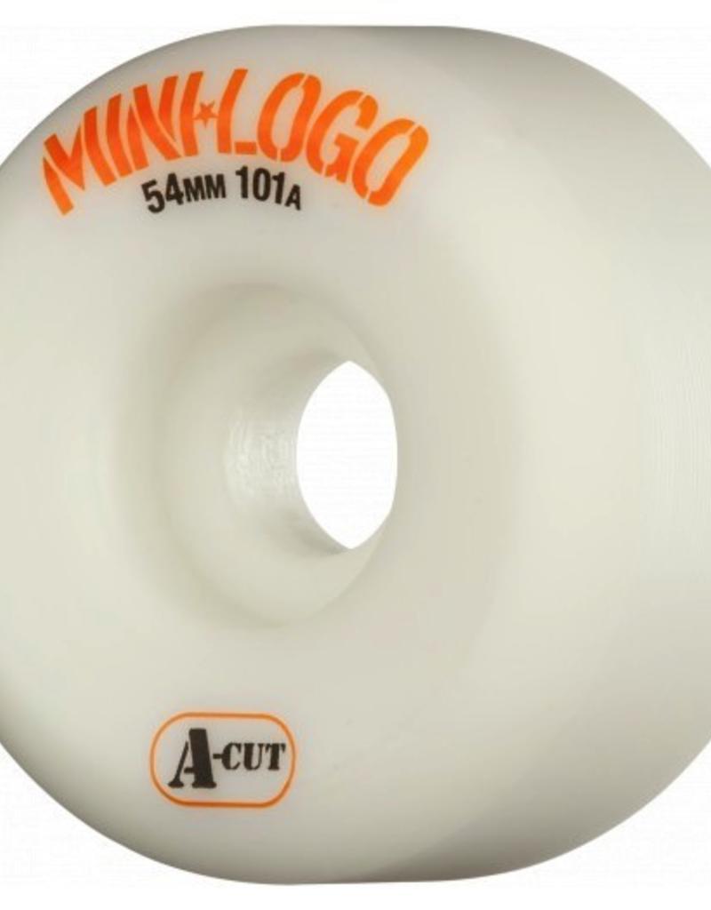 MINI LOGO WHEELS A-CUT 4PK