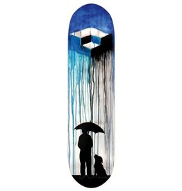"Consolidated Cube Rain Skateboard Deck - 8.5"" x 32"""