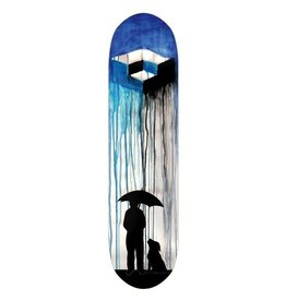 "Consolidated Cube Rain Skateboard Deck - 8.5"" x 32"""