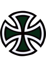 """INDEPENDENT CUT CROSS DECAL 4"""""""