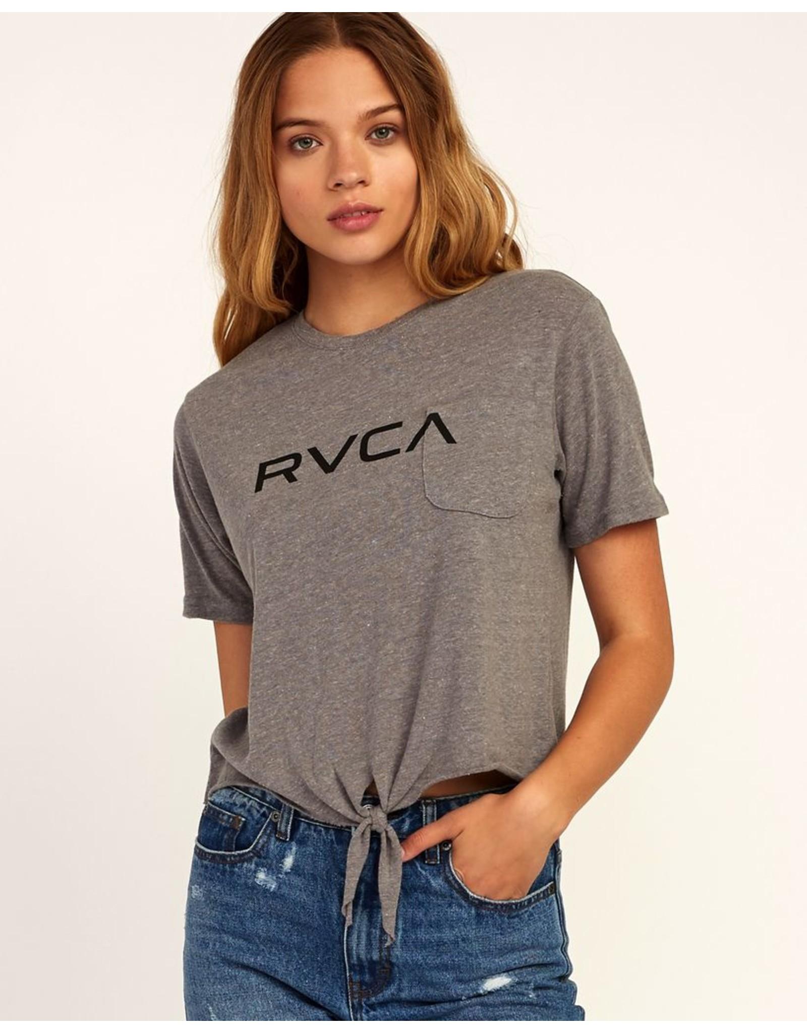 RVCA BIG RVCA KNOTTED T-SHIRT