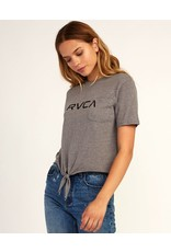 RVCA BIG RVCA KNOTTED T-SHIRT