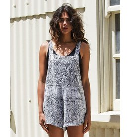 RVCA MARGAUX MARBLE WOVEN OVERALL