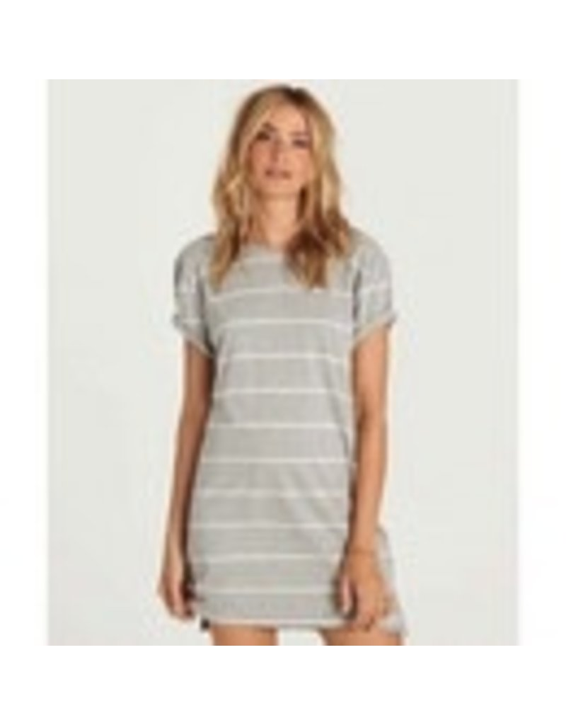 DOWN TIME STRIPED DRESS